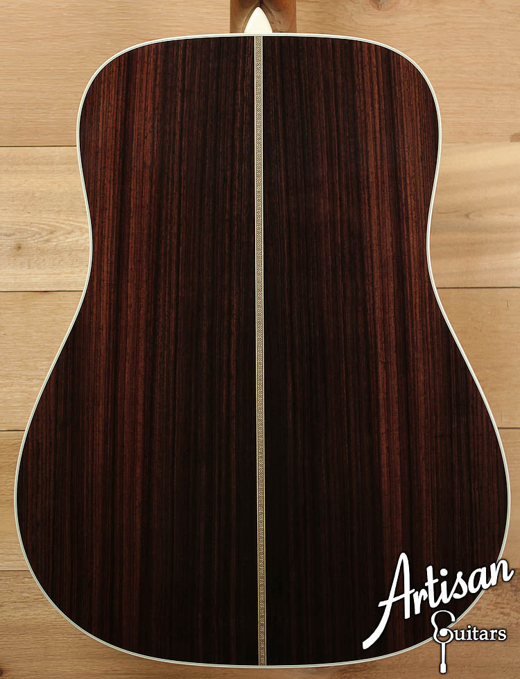 Collings D2HGVNSB German Spruce and Indian Rosewood with Sunburst ID-6469 - Artisan Guitars