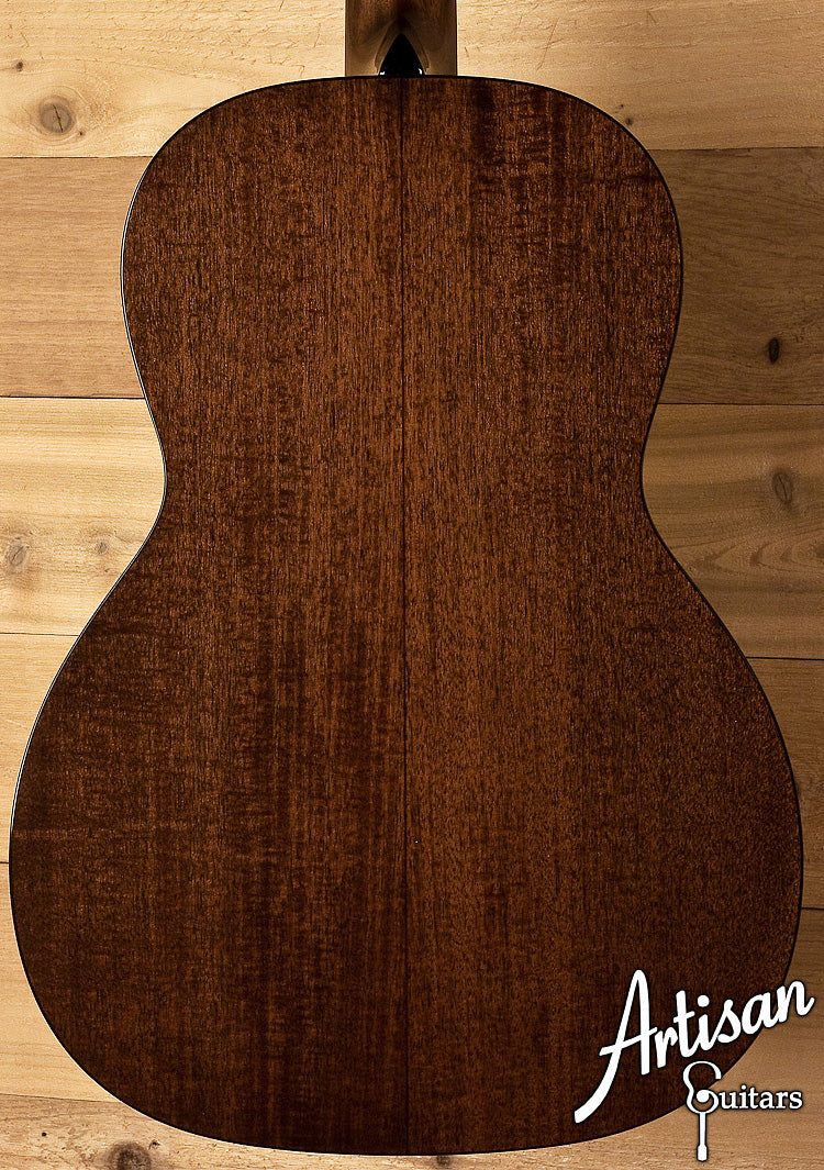 Collings Custom 001 All Mahogany with Herringbone ID-5983 - Artisan Guitars