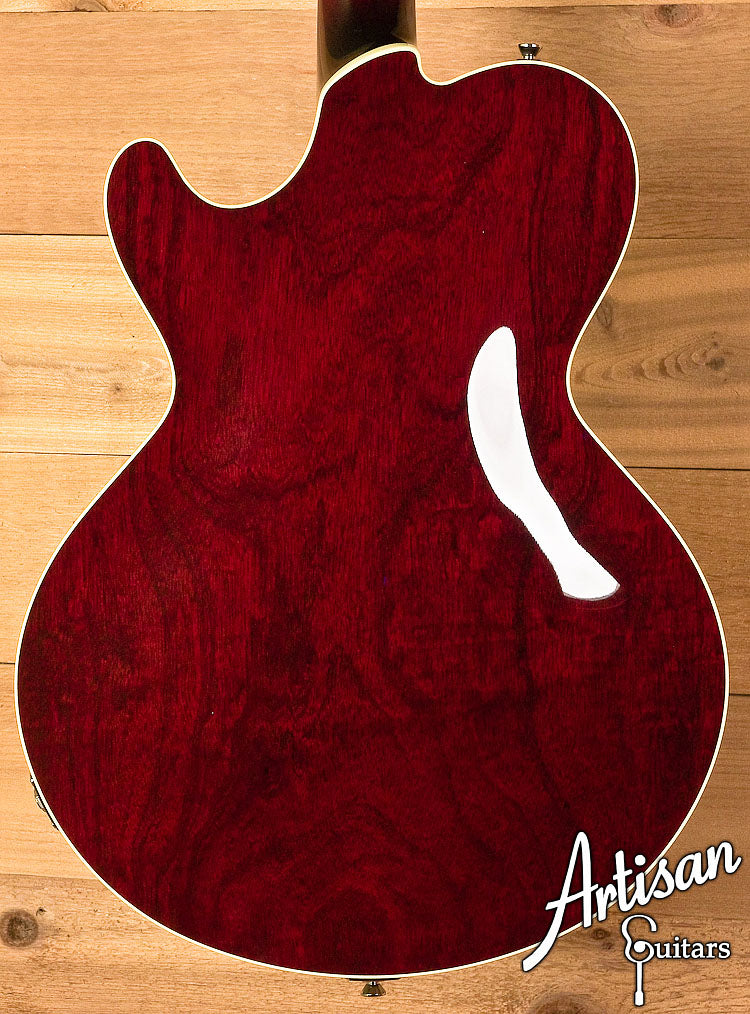 Collings City Limits Jazz Thinline Archtop Merlot Finish Lollar Johnny Smith-Style Pickup ID-5985 - Artisan Guitars