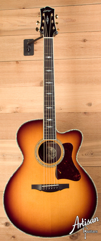 Collings SJ Custom Indian Rosewood and German Spruce with Cutaway Style 41 Inlays ID-5663 - Artisan Guitars