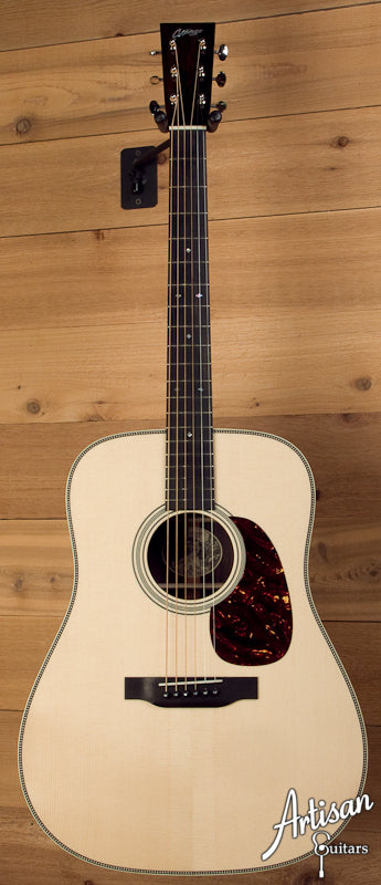 Collings D2HG German Spruce and Indian Rosewood No Tongue Brace and Adirondack Bracing ID-5667 - Artisan Guitars