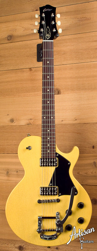 Collings 290TV Yellow with TV Jones Pickups and Bigsby Tremolo ID-5685