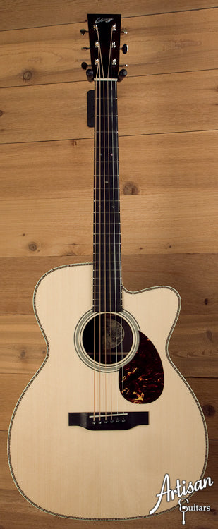 Collings OM2HG German Spruce Indian Rosewood with Cutaway ID-5687