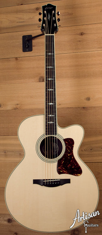 Collings SJ-G German Spruce and Indian Rosewood with Cutaway ID-5774
