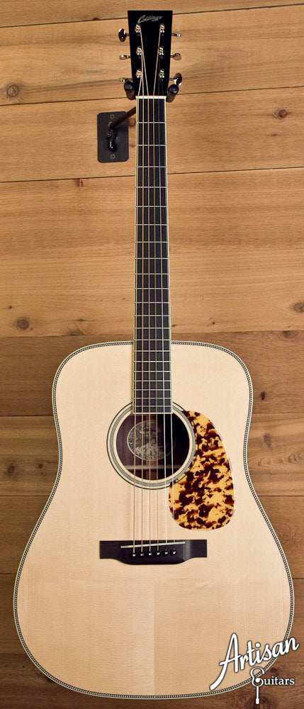 Collings CW Adirondack Spruce with No Tongue Brace and Adirondack Bracing ID-5566 - Artisan Guitars