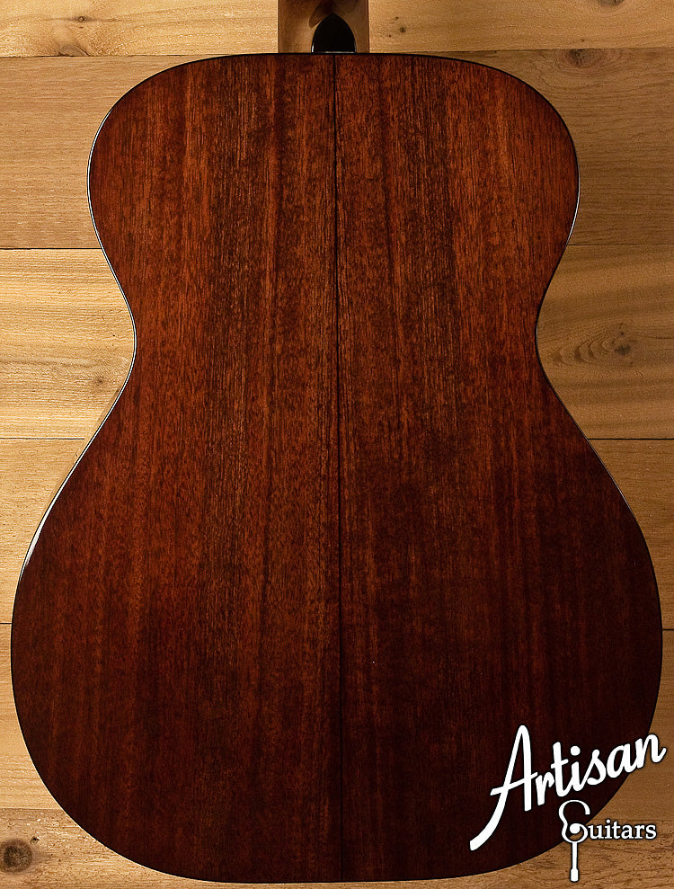 Huss and Dalton Traditional OM Custom Italian Spruce and Sinker Mahogany ID-6072