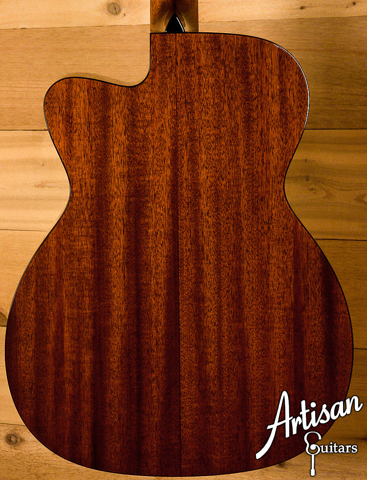 Collings OM1C Pete Huttlinger Signature Model Sitka Spruce and Mahogany ID-6068 - Artisan Guitars