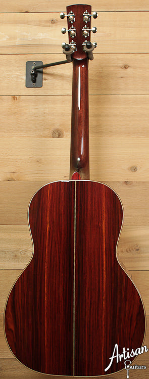 Huss and Dalton Custom 00 Engelmann and Cocobolo ID-6547 - Artisan Guitars