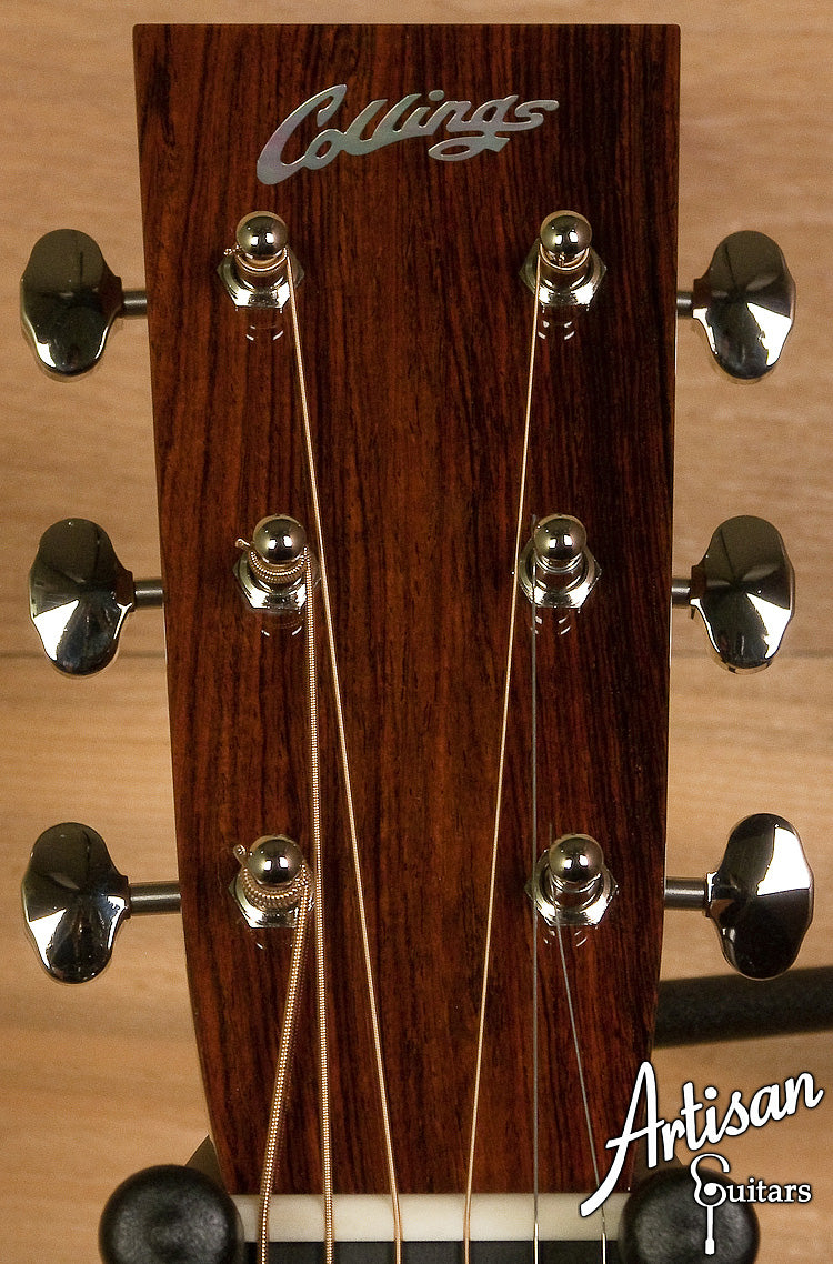 Collings OM2HABRA Adirondack Spruce and Brazilian Rosewood  ID-6270 - Artisan Guitars