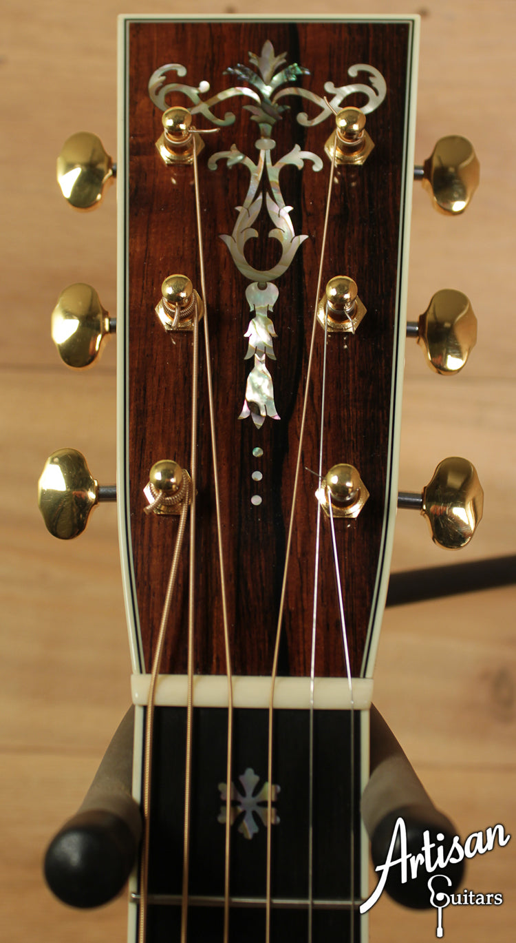 Collings OM 42 Baaa Adirondack and Brazilian Rosewood ID-6528