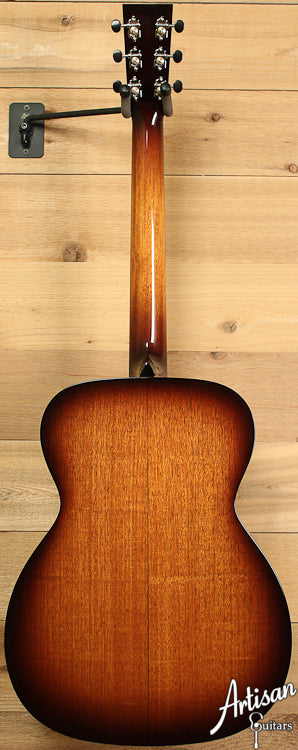 Collings OM1 Mh SB Mahogany with Full Body Sunburst ID-6845 - Artisan Guitars