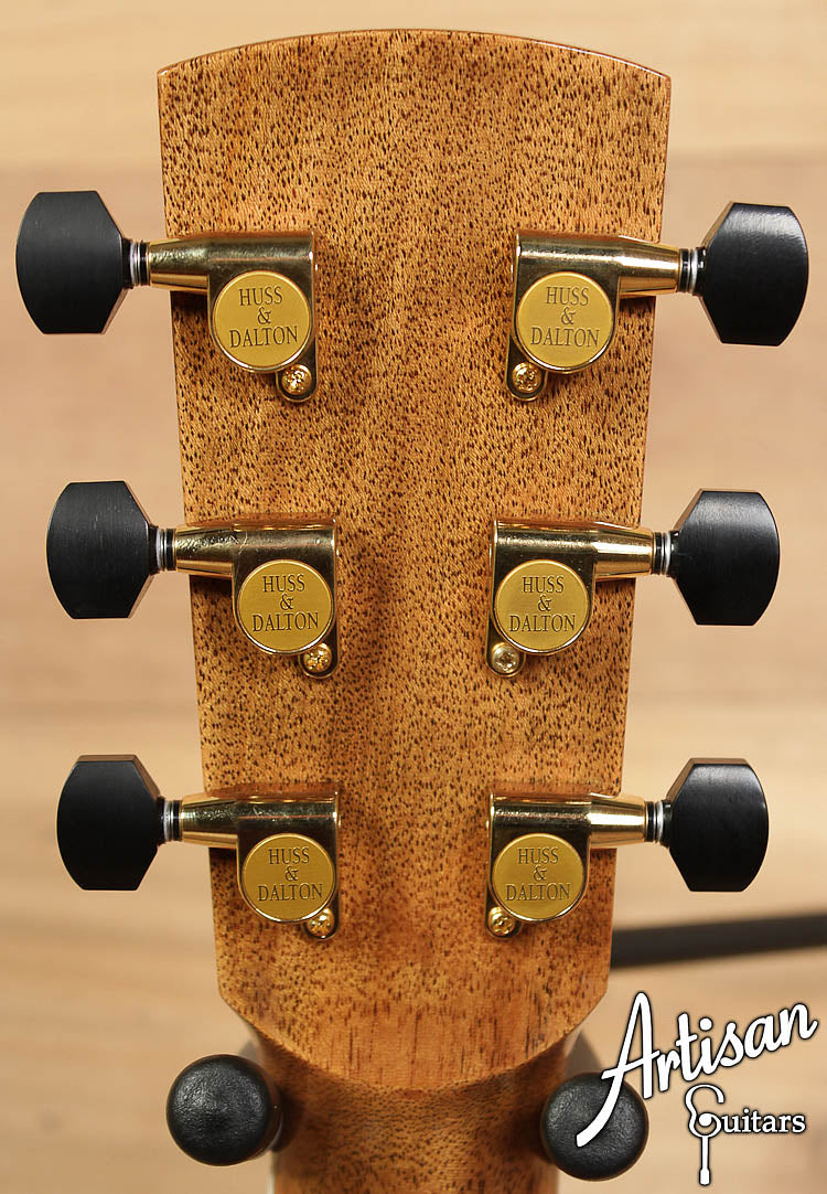 2009 Huss and Dalton Custom OM Sitka and Australian Blackwood ID-6405 - Artisan Guitars