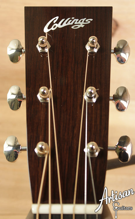 Pre-Owned 2012 Collings Baby 2HG German Spuce and Indian Rosewood ID-6570 - Artisan Guitars