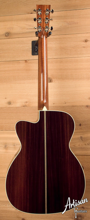 Collings OM2HG German Spruce Indian Rosewood with Cutaway ID-5687 - Artisan Guitars