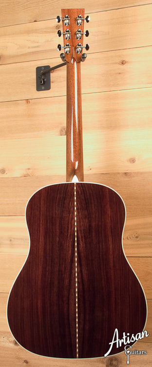 Collings CJ German Spruce and Indian Rosewood + Adirondack Bracing + No Tongue Brace ID-5761