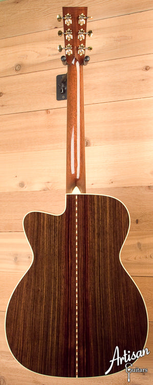 Collings OM 42ACVnVarn Adirondack and Indian Rosewood, Varnish Finish, Adi Bracing, Vintage Now Neck and Bridge with 42 Style Inlays and Cutaway ID-5889