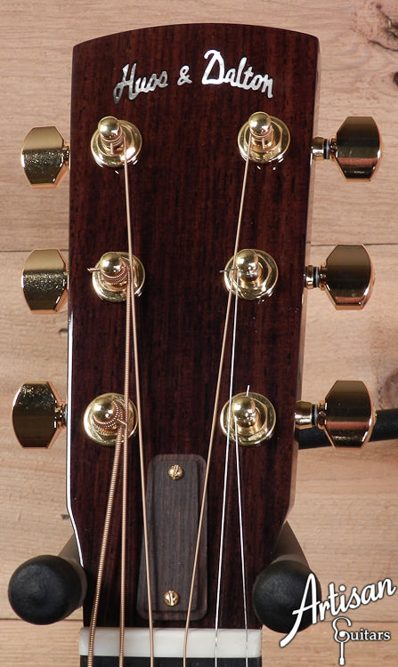 Huss and Dalton D RH Sitka Spruce and Indian Rosewood with Hot Hide Glue ID-6783 - Artisan Guitars