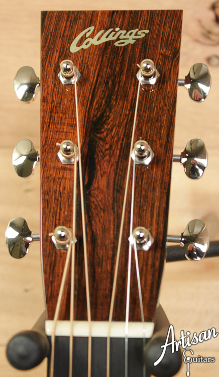 Collings D2HBRA Varnish Custom Adirondack Spruce and Brazilian Rosewood No Tongue Brace and Adirondack Bracing ID-6747 - Artisan Guitars