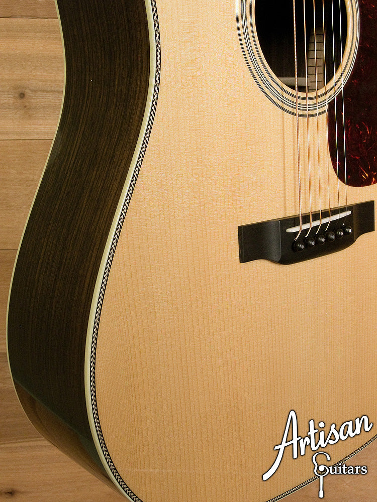 Collings D2HA Adirondack Top with No Tongue Brace Indian Rosewood Back and Sides ID-6303
