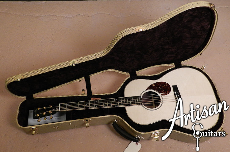 Huss and Dalton CM Non Cutaway Engelmann Spruce and Indian Rosewood ID-6781 - Artisan Guitars