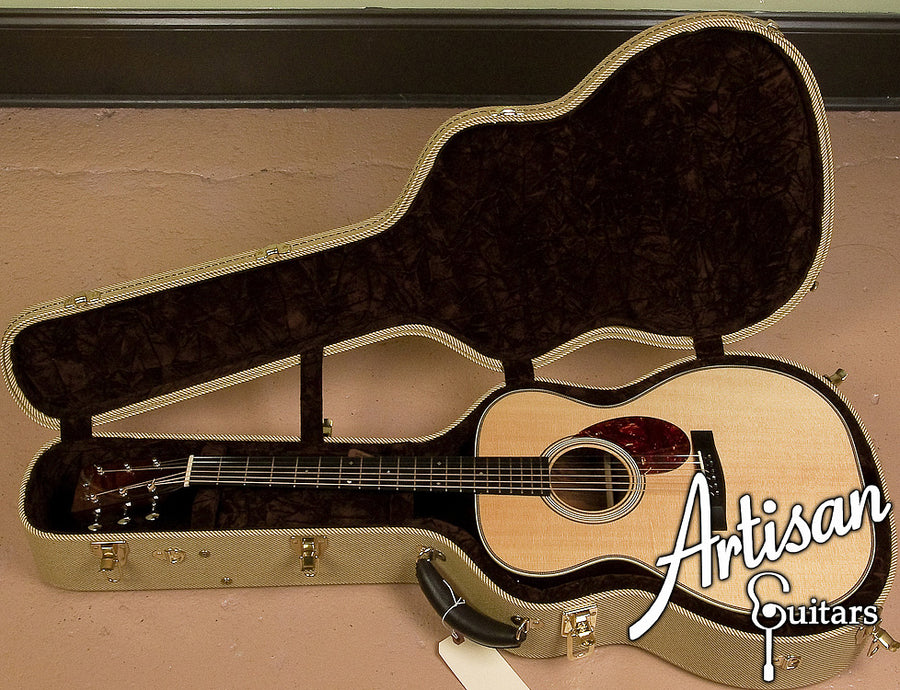 2009 Huss and Dalton TOM-R Custom Sitka Spruce and Brazilian Rosewood ID-6158