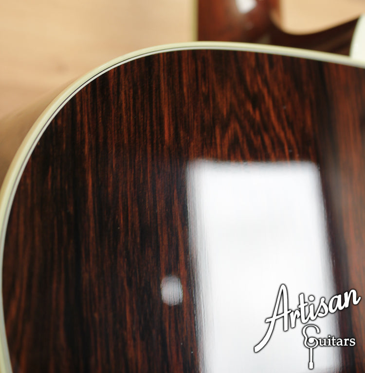 Collings OM 42 Baaa Adirondack and Brazilian Rosewood ID-6528 - Artisan Guitars