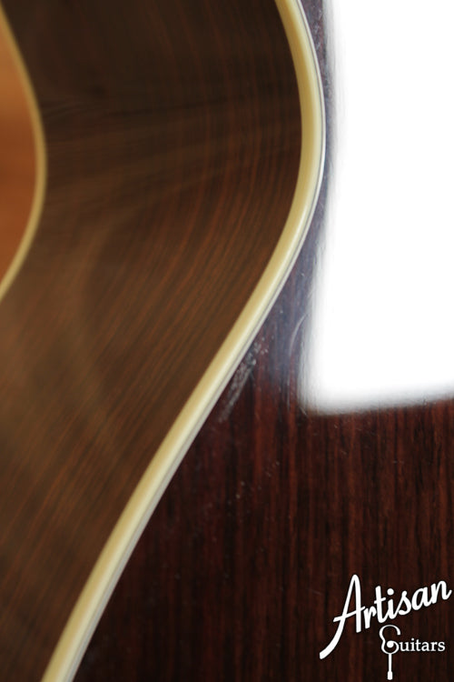 Pre Owned Collings OM2HG German Spruce and Indian Rosewood Deep Body with K and K Pure Mini ID-6686