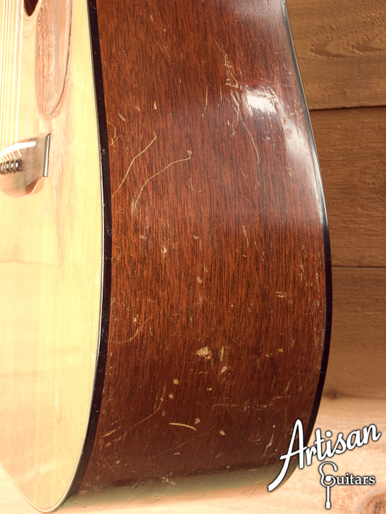 1951 Martin D-18 Sitka Spruce and Mahogany Modded by Dan Lashbrook ID-5767 - Artisan Guitars