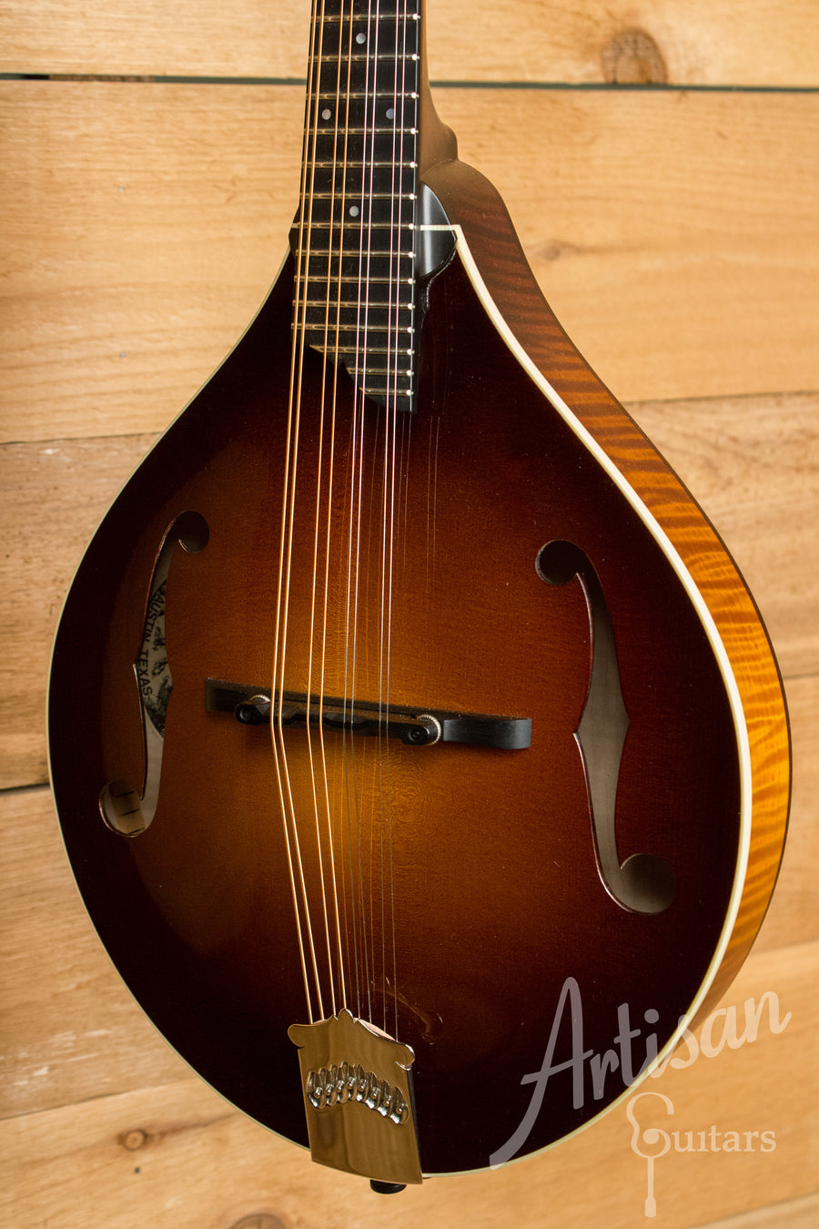 Collings MT Mandolin Engelmann Spruce and Maple A Style with Custom Sunburst Gloss Top Pre-Owned 2013 ID-11068