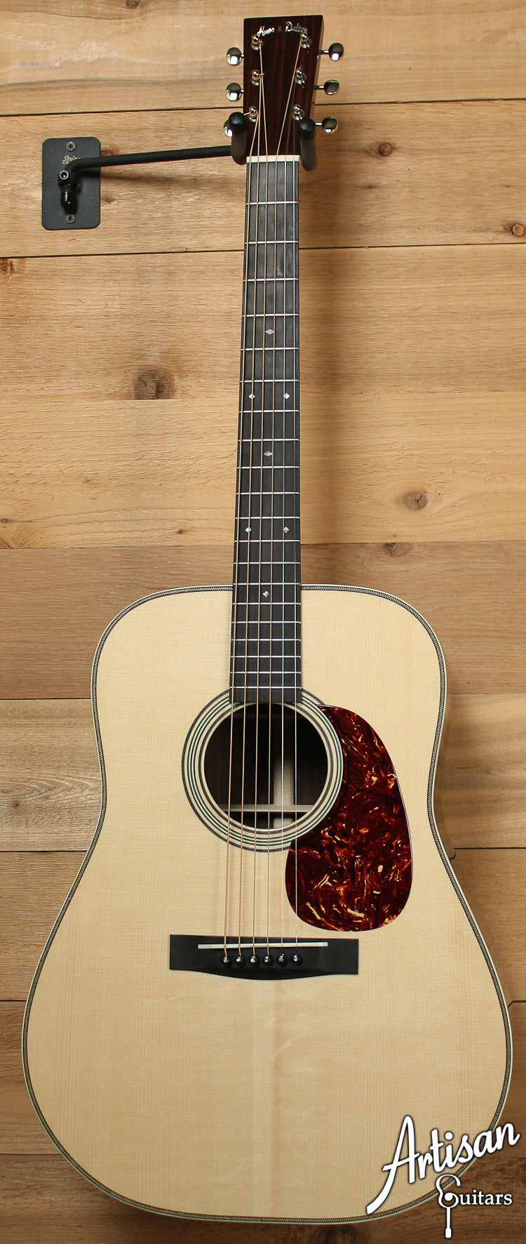 2012 Pre-Owned Huss and Dalton TD R Custom Red Spruce and Indian Rosewood ID-7803 - Artisan Guitars