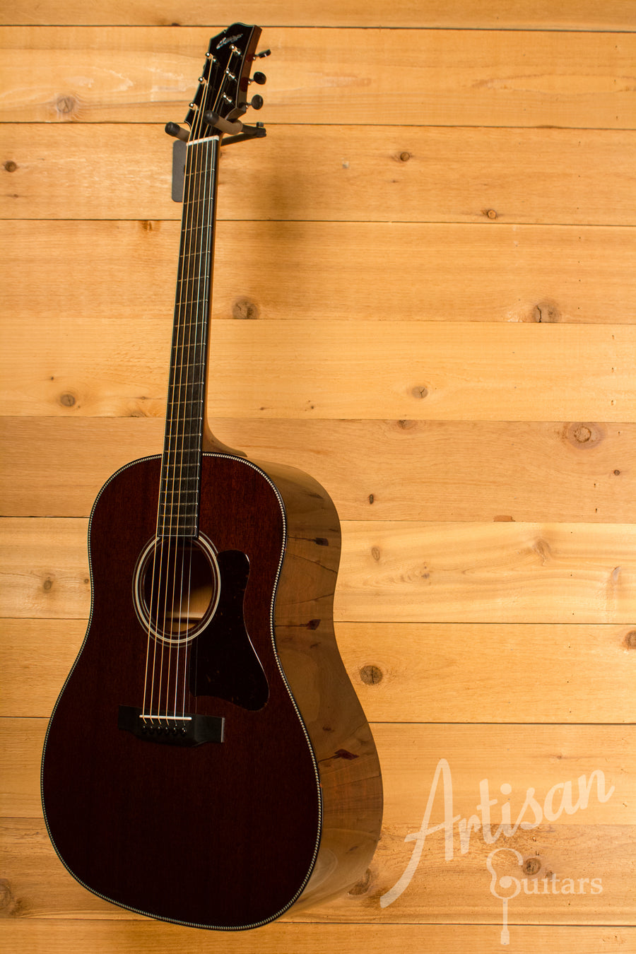 Collings CJ Guitar All Mahogany with No Tongue Brace ID-10453 - Artisan Guitars