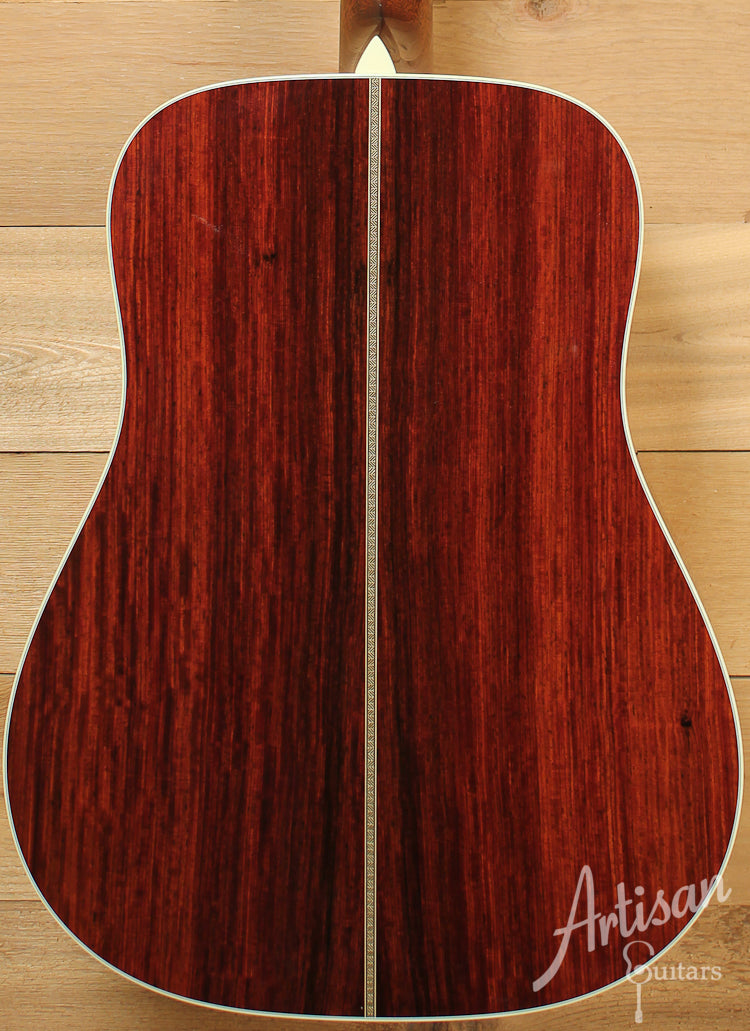 Collings D2H G German Spruce and Cocobolo  ID-7886 - Artisan Guitars