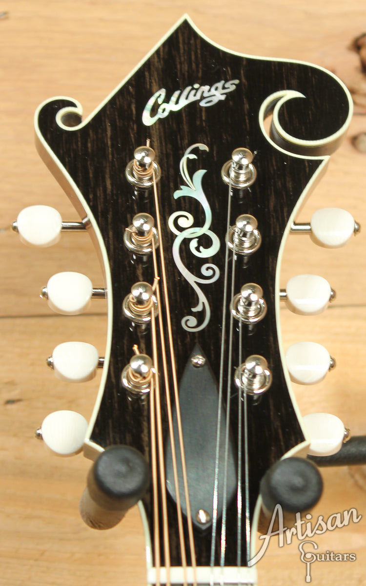 Collings MF5 Mandolin F Style with Adirondack and Birdseye Maple ID-7379 - Artisan Guitars