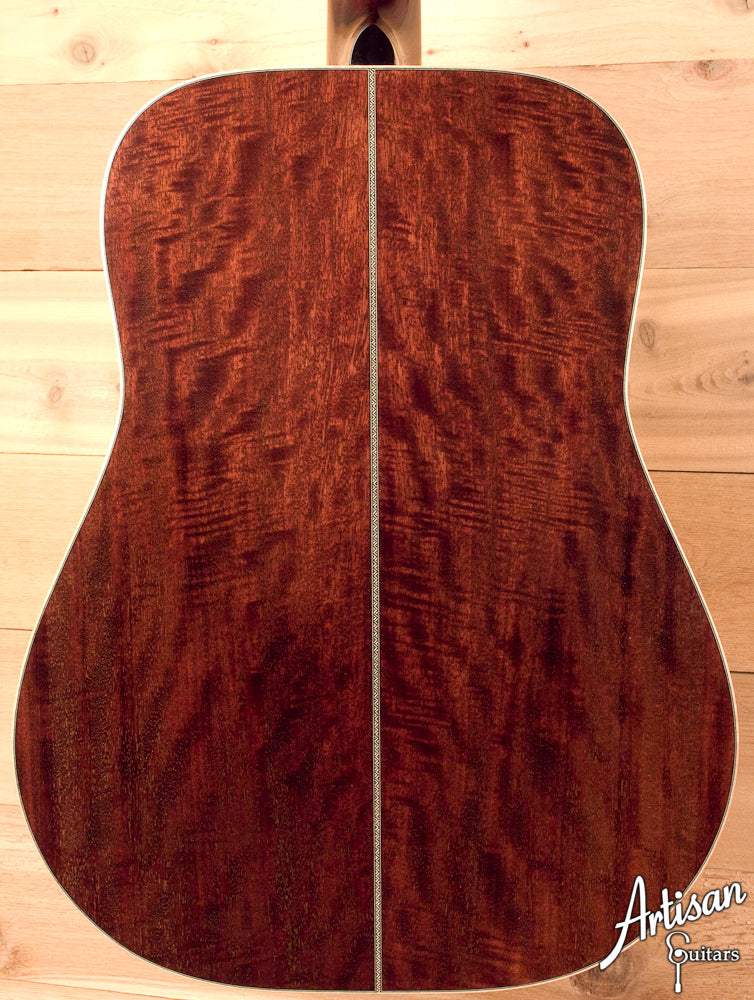 Huss and Dalton Custom DM with European Spruce and Figured Mahogany ID-5476