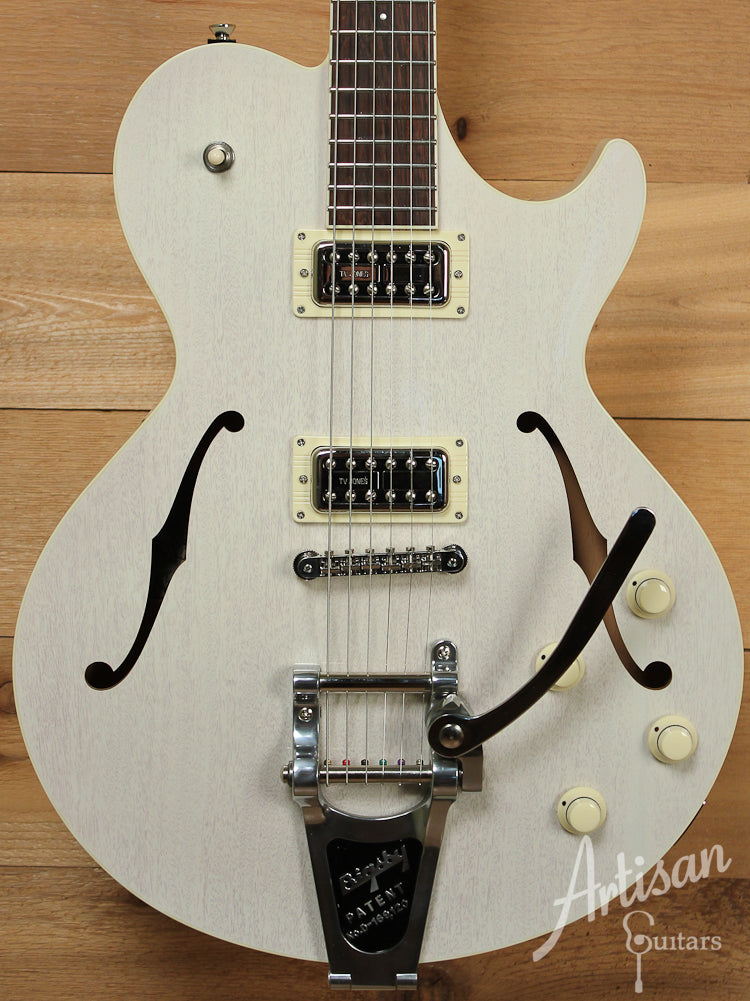 Collings SoCo Deluxe Custom Vintage White with Bigsby Tremolo ID-8099