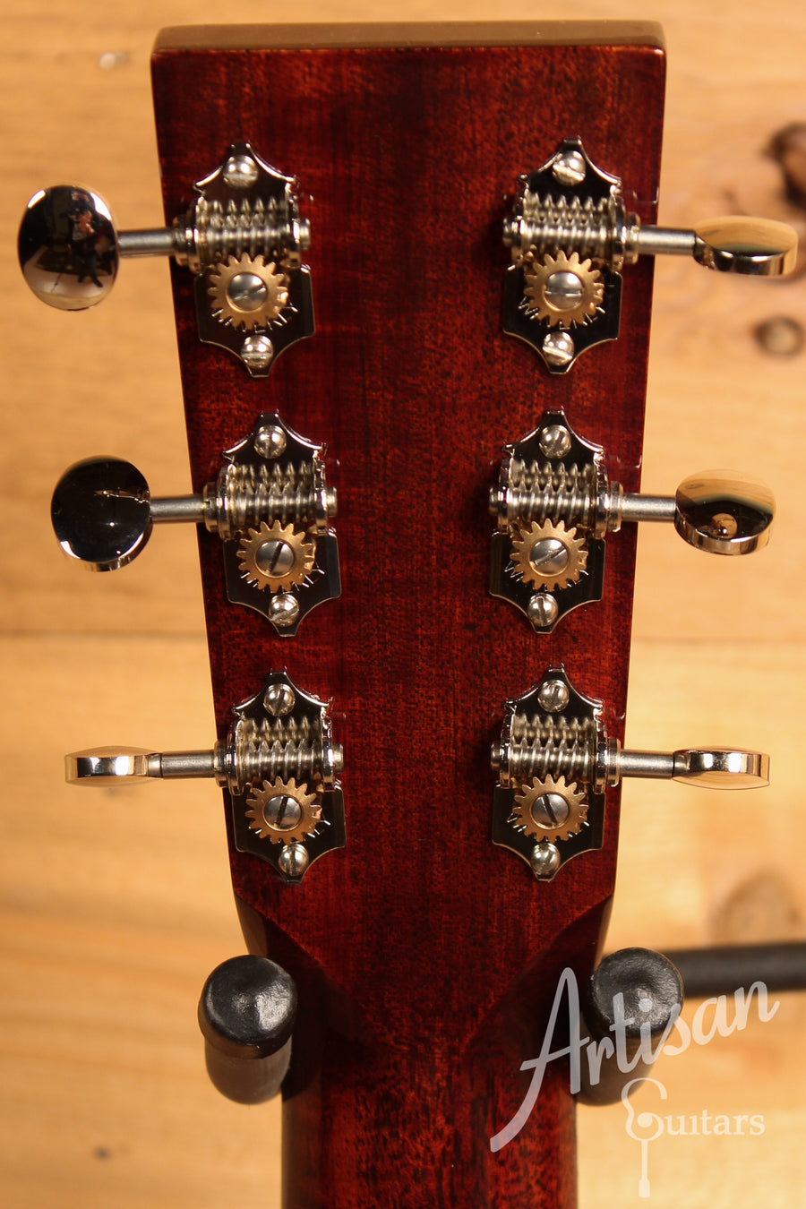 Huss and Dalton TOM M Guitar Thermo-cured Red Spruce and Mahogany Pre Owned 2015 ID-9547
