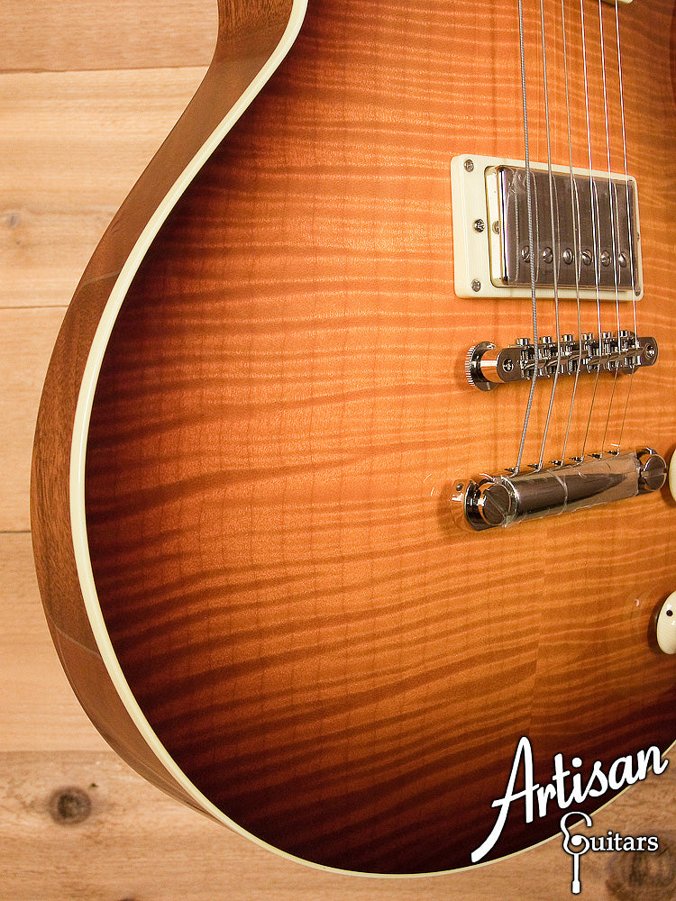 Collings City Limits Deluxe Flamed Maple With Iced Tea Sunburst Finish and Jason Lollar Humbuckers ID-6090