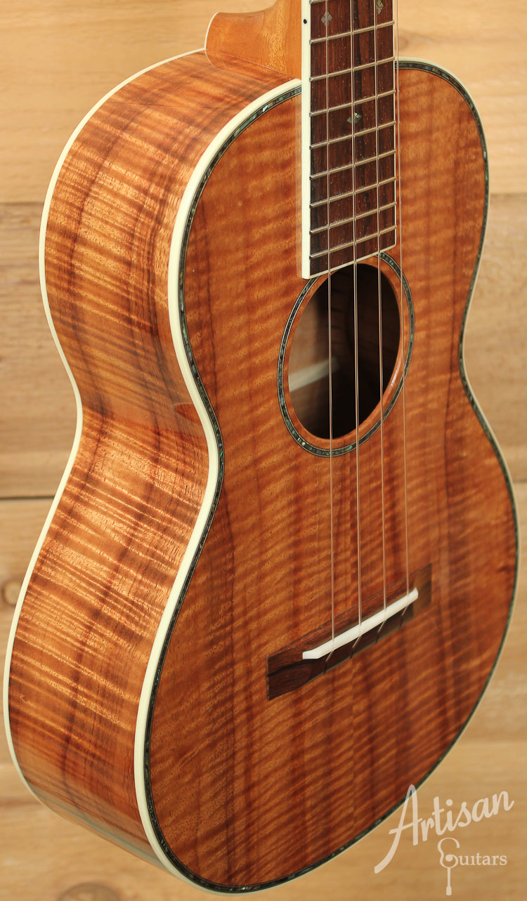 Collings UT41 K Koa Tenor Ukulele with 41 Style Appointments ID-7866 - Artisan Guitars