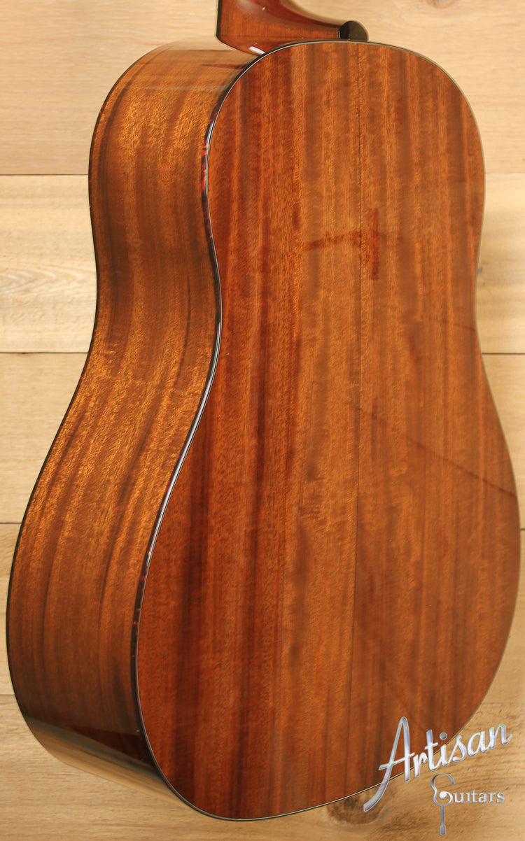 Collings CJ Mh G SS SB German Spruce and Mahogany Short Scale with Sunburst ID-7638 - Artisan Guitars