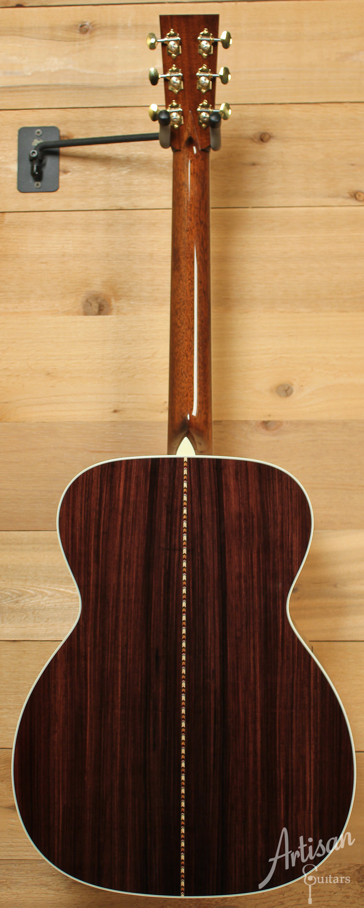 Collings OM3H G German Spruce and Indian Rosewood with Adirondack Braces ID-8194