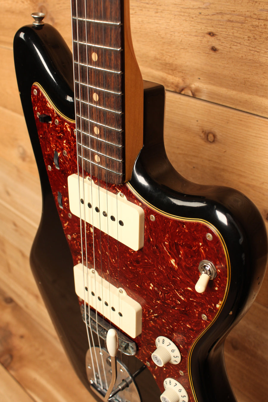 Fender Custom Shop 1959 Journeyman Relic Jazzmaster Aged Black Finish ID-11144 - Artisan Guitars