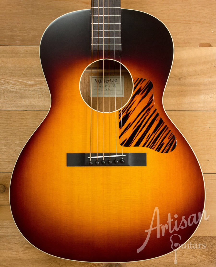 Waterloo WL-14X Guitar with Truss Rod and Sunburst Finish ID-10317