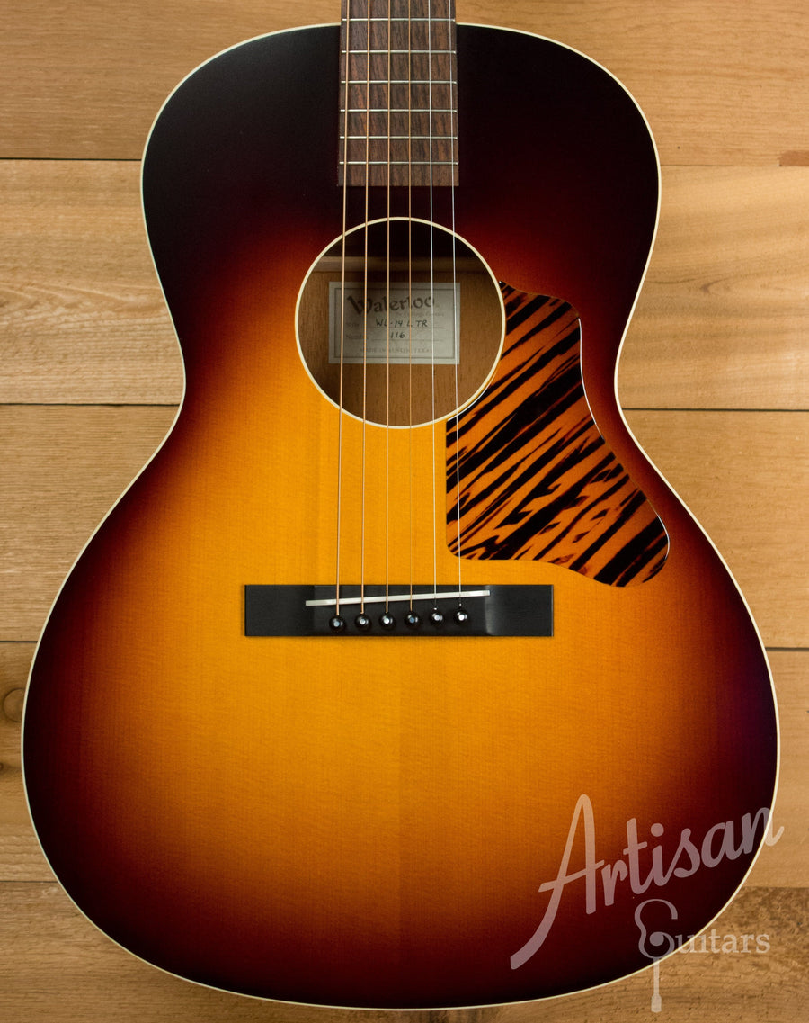 Waterloo WL-14L Guitar with Truss Rod and Sunburst Finish Pre-Owned 2015 ID-11094 - Artisan Guitars