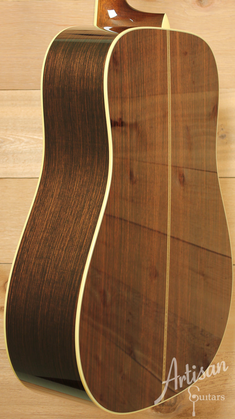 Collings CW A Varnish Adirondack and Indian Rosewood with Varnish Finish ID-7687 - Artisan Guitars
