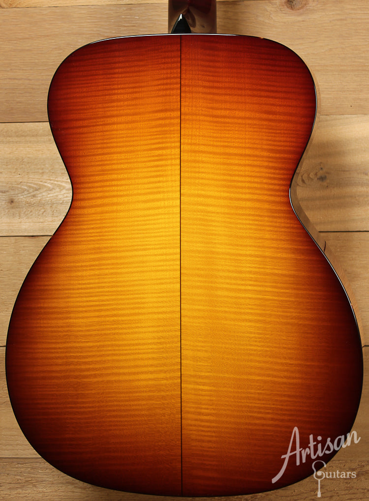 Collings OM1 Maple A SB Adirondack Spruce and Maple with Full Body Sunburst ID-7750 - Artisan Guitars