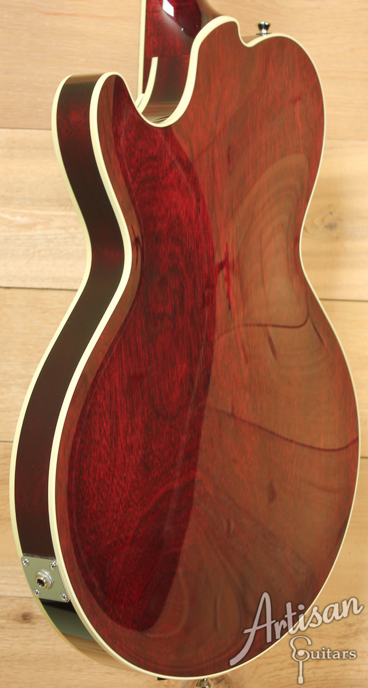 Collings CL Jazz Thinline Archtop Merlot Finish  ID-7373