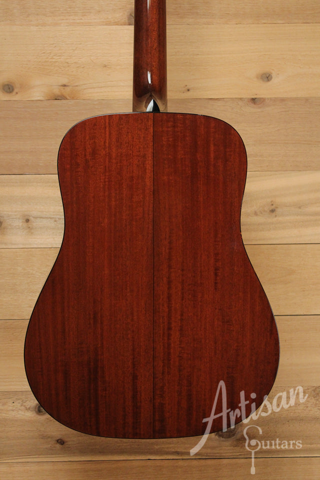 Pre Owned 2014 Collings D1A Guitar VN Varnish Adirondack and Mahogany with Vintage Now Neck and Varnish ID-10044 - Artisan Guitars