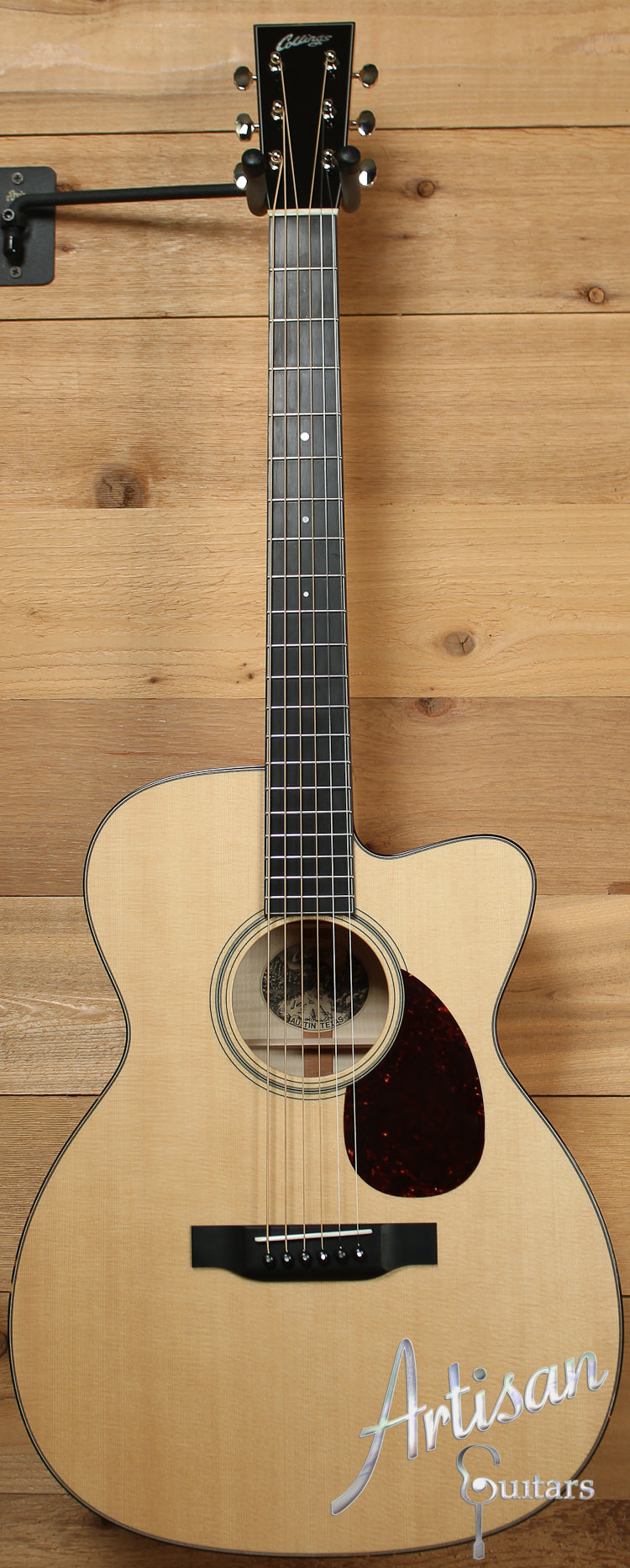 Collings OM1 Maple Cut Sitka Spruce and Maple with Cutaway ID-7669