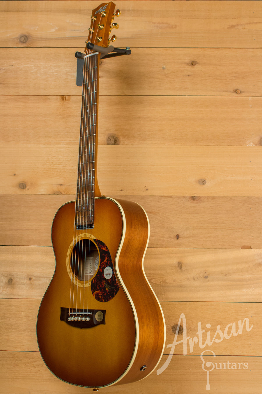 Maton EMD6 Mini Maton Diesel Sitka with Blackwood and Vintage Amber Sunburst ID-11210 - Artisan Guitars