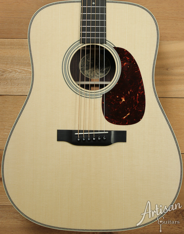 Collings D2HG German and Indian Rosewood with Adirondack Braces and No Tongue Brace ID-7407